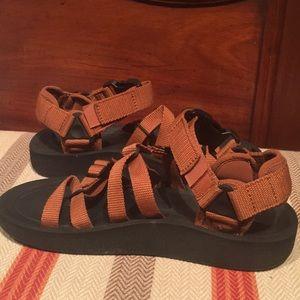 8d730afa174 Teva Shoes - Men s Teva Alp Premier Fired Brick Strappy Sandals